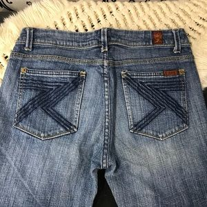 7 For All Mankind slight flair jeans